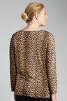 Plus Size - Sara Knit Drape Top