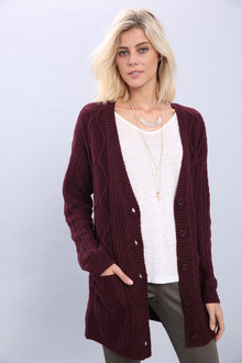 Capture Cable Cardigan