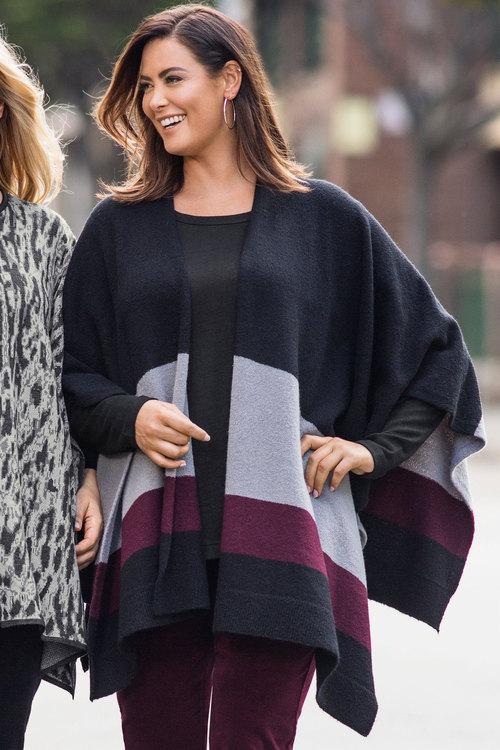 Sara Knit Wrap