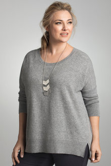 Plus Size - Sara Lambswool Crew Neck