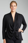 Plus Size - Sara Twist Knit Cardi