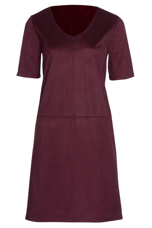 Capture Mock Suede Dress