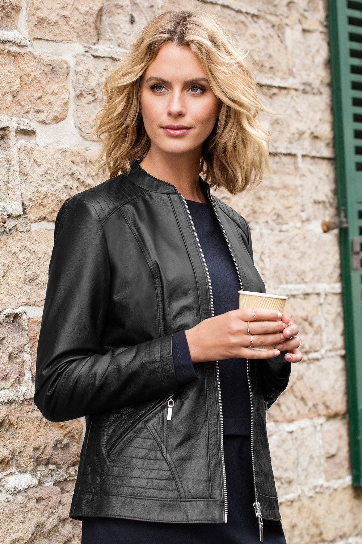 Womens leather jackets ezibuy