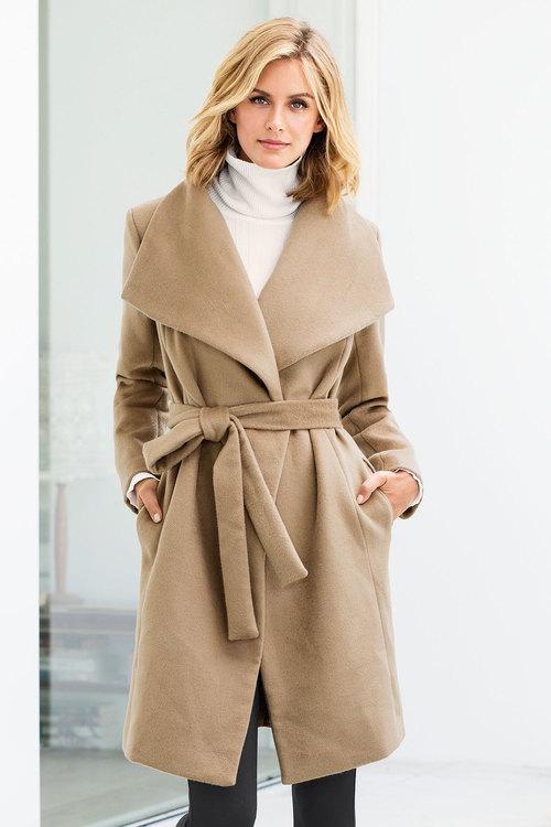 Capture Shawl Collar Coat