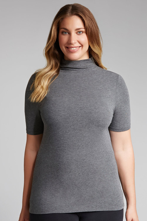 Plus Size - Emerge Woman Short Sleeve Polo