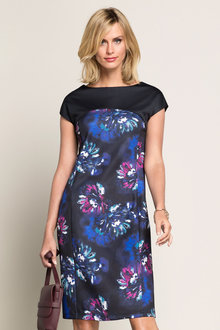 Capture Structured Floral Dress