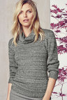 Next Grey Boucle Sweater