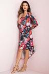 Grace Hill Layered Knit Dress