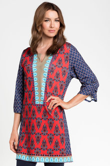 Grace Hill Print Tunic