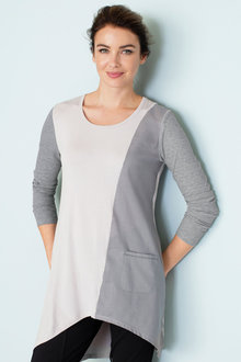 Grace Hill Splice Tunic