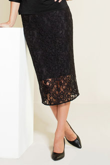 Grace Hill Lace Pencil Skirt