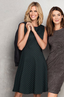Capture Fit & Flare Dress