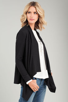 Capture Rib Drape Cardigan