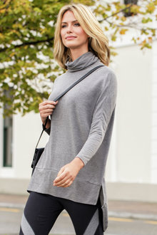 Emerge Roll Neck Tunic