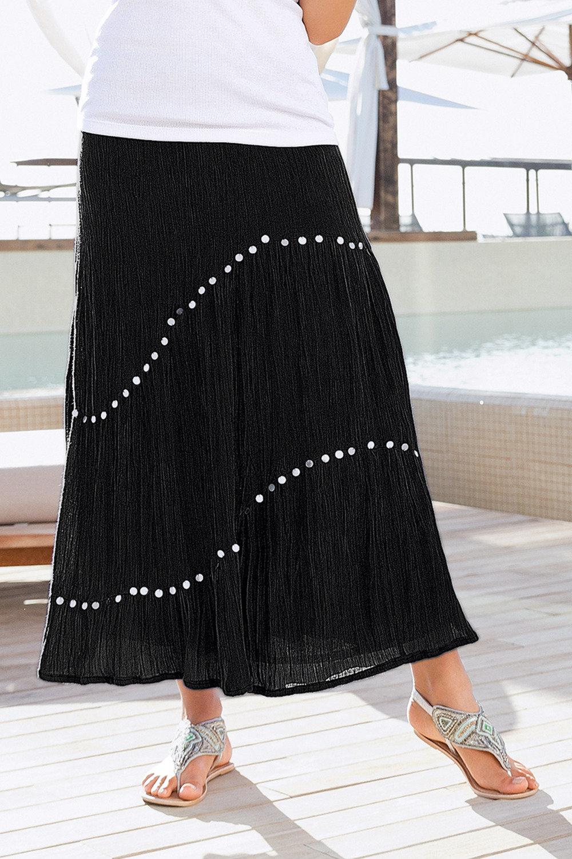 e32bfad0ec Together Sequinned Maxi Skirt Online | Shop EziBuy