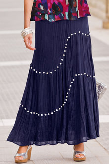 Together Sequinned Maxi Skirt