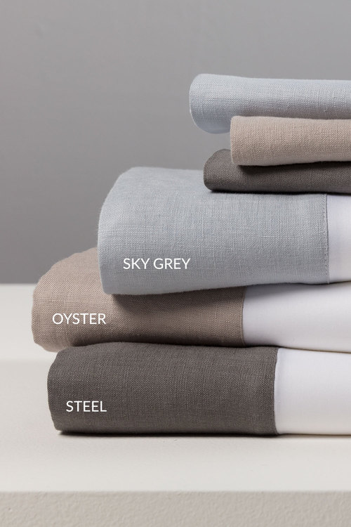 Linen Edge Sheet Set