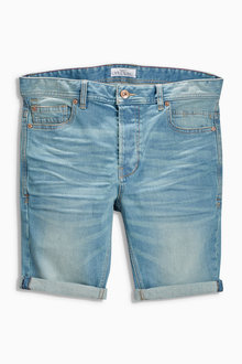 Next Regular Denim Shorts