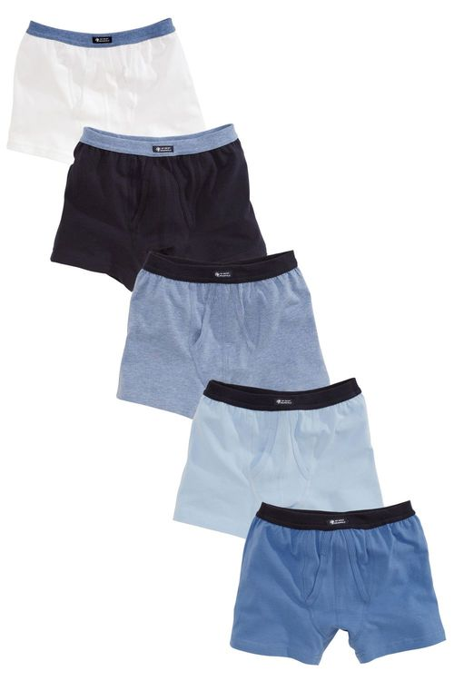 Next Blue 5 Pack Trunks (2-16yrs)