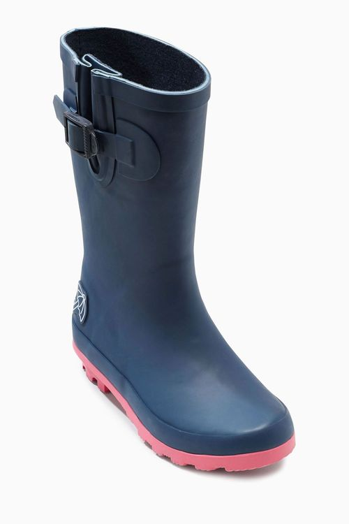 Next Navy Wellington Boots (Older Girls)