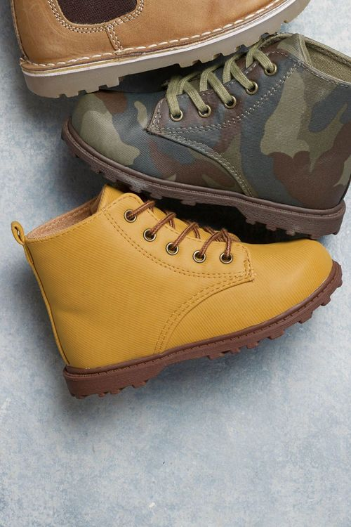Next Lace Boots (Younger Boys)