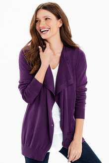 Capture Button Cardi