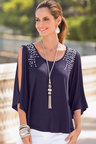 Together Open Sleeve Top