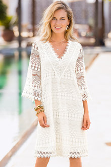 European Collection Lace Dress