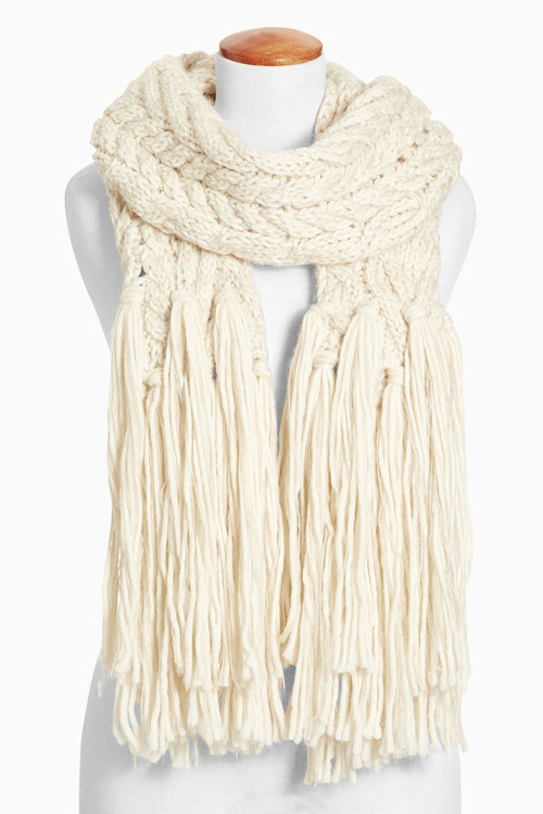 Next Knitted Long Scarf