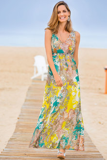 Together Sequin Detailed Maxi Dress