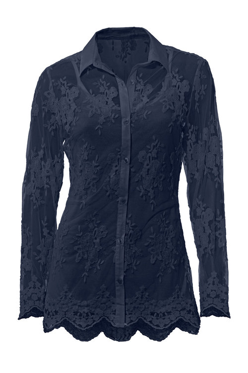 Heine Lace Detail Shirt