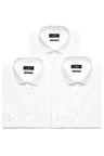 Next Three Pack Plain White Shirts