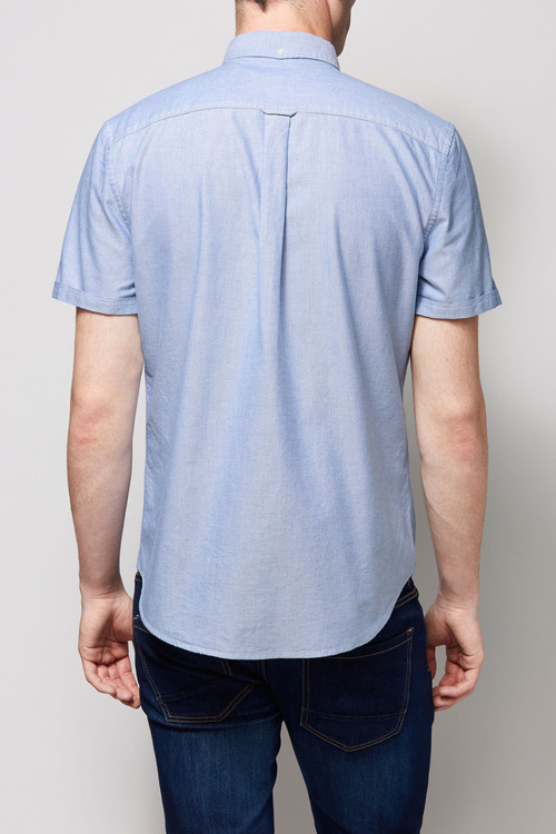 Next Short Sleeve Oxford Shirt