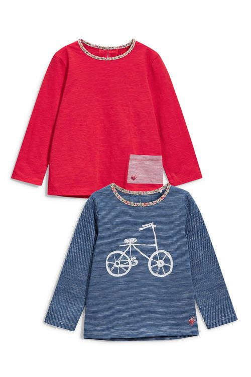 Next Bike T-Shirt Two Pack (3mths-6yrs)