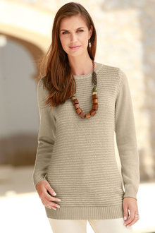 Capture European Knitted Pullover