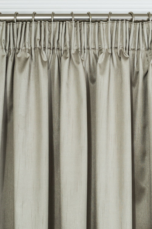 Henley Pencil Pleat Curtains Pair