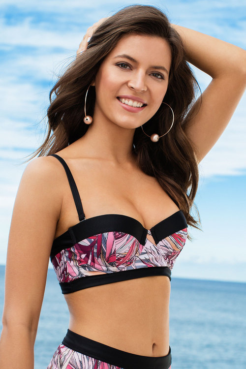 Nancy Ganz Longline Shaping Bikini Top