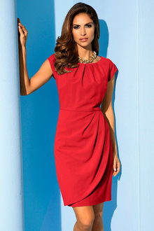 Heine Structured Pleat Dress