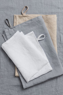 Hampton Linen Tea Towel