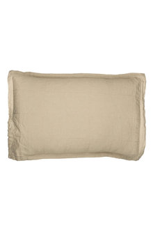 Hampton Linen Quilted Pillowcover