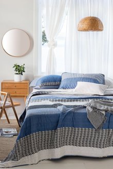 Rikka Quilted Bedcover