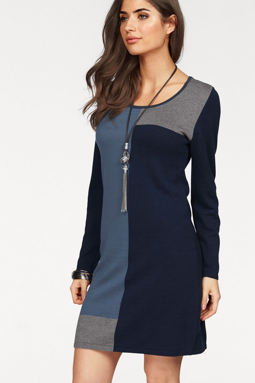 Urban Colour Block Dress