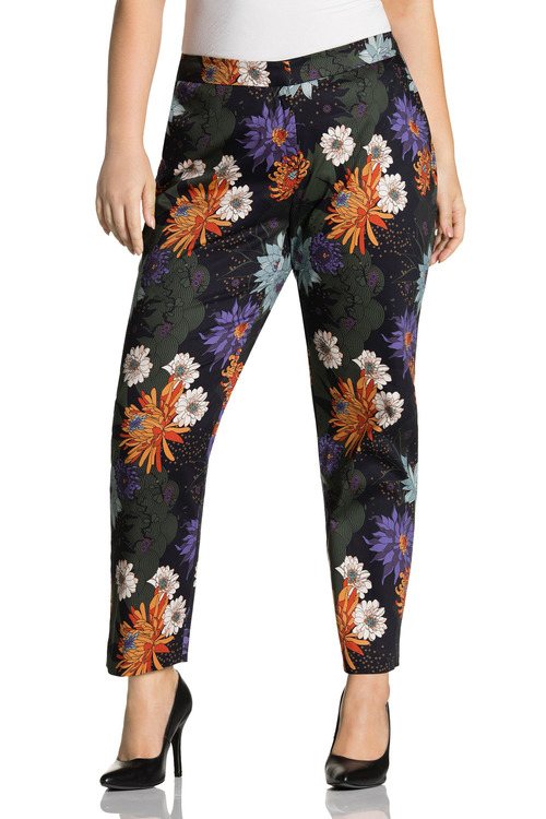 Sara Cotton Sateen Stretch Pant