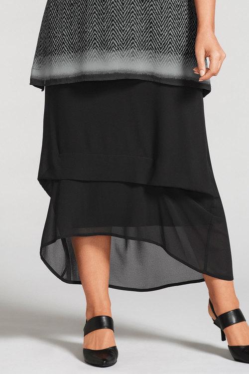 Plus Size - Sara Layered Skirt