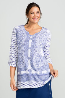 Sara Tiled Dots Tunic