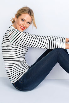 Emerge Stripe Top