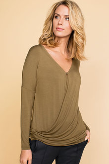 Capture Wrap Top