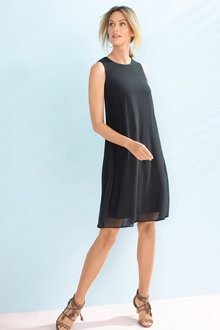 Capture Chiffon Swing Dress