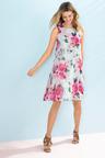 Capture Chiffon Swing Dress