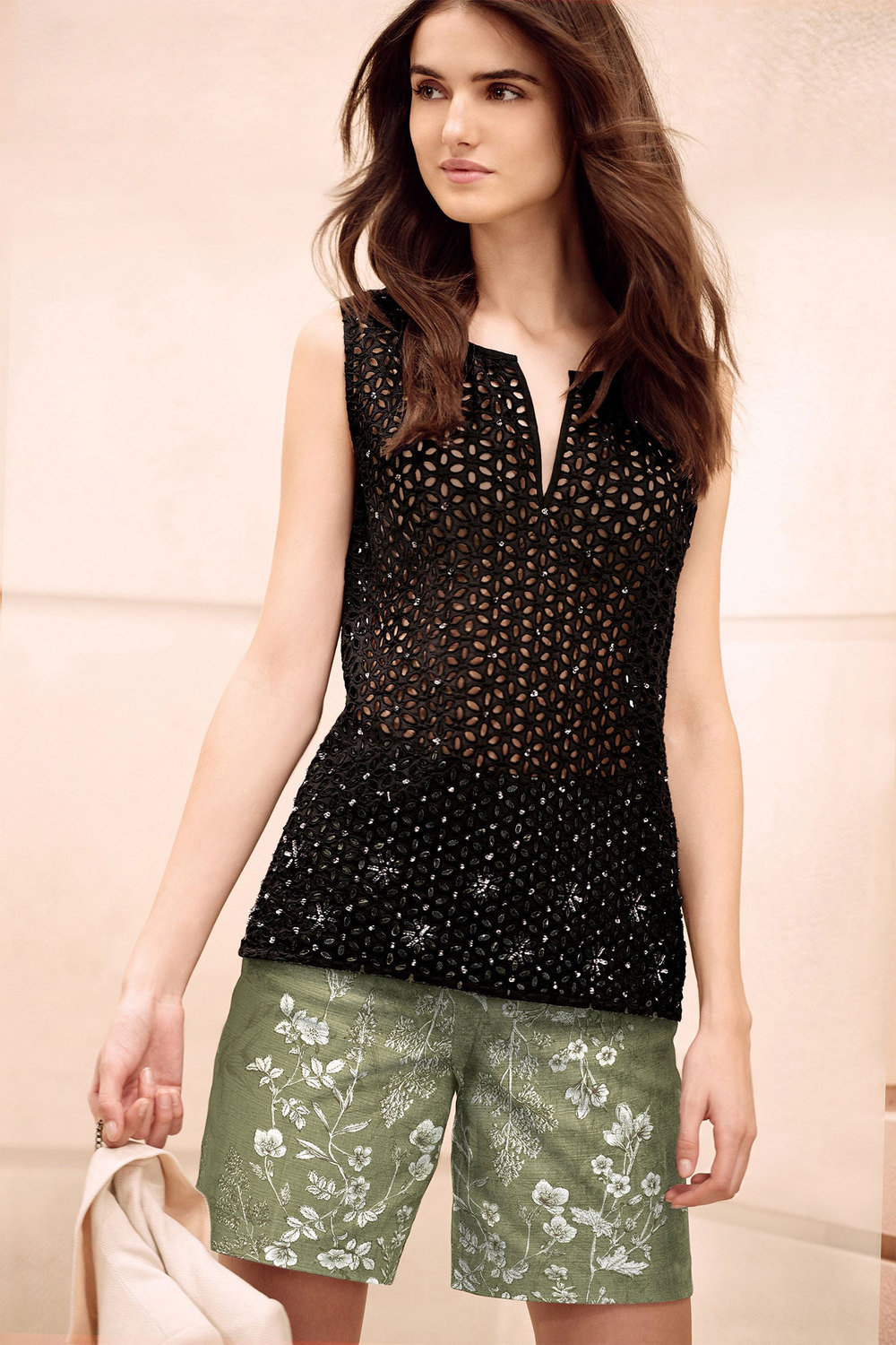 dd90295b5199 Next Embellished Broderie Shell Top Online